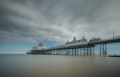 Eastbourne Pier (Photo Lab by Ross Farnham) Tags: eastbourne pier sussex wide angle big stopper long exposure ocean coastal clouds