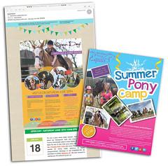 Island Equus - Summer Pony Camp (s0ulsurfing) Tags: s0ulsurfing 2016 july news wwwjasonswaincouk image photography isleofwight isle wight island equus horse poster summer pony camp invite