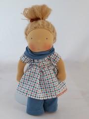 Jul blau 1 (belambolo1) Tags: puppe waldorf waldorfdoll waldorfstyle stoffpuppe spielen spielzeug toy handmade handcrafted playing dollplaying 12inchdoll