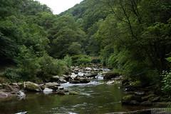 East Lyn river looking upstream (yulepasta) Tags: nationaltrust watersmeet river stream