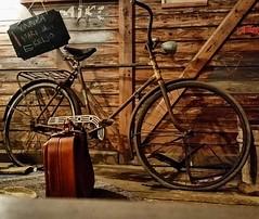 Altes Fahrrad in Finnland