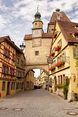 Welcome to Rothenburg! (Blue Trail Photography) Tags: rothenburg deutschland german germany deutsch bayern bavaria medieval town city old tourist tourism travel europe europa