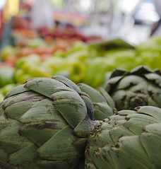Farmers Market (melody_hoover) Tags: market flickrfriday carsoncity d7000 day event green nikon nv outdoors food nevada naturallight town bokeh vegetables red