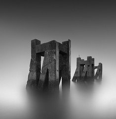 Pillar to Post (vulture labs) Tags: southend long exposure seascape fine art vulture labs workshop pier jetty sea coast nikon minimalist minimal bw mono monochromatic 16 stops firecrest ndfilter neutral density filter nd le