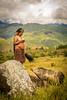 Woman, Land and Pig (tehhanlin) Tags: indonesia papua westpapua wamena irianjaya jayapura thedanis sukudani ikipalin noken koteka sony a7r2 a7rm2 ngc travel humaninterest portrait festival baliemvalley lembahbaliem