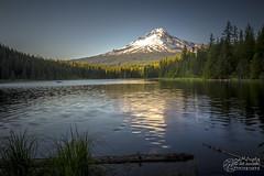 Trillium Lake, Oregon. Taken one hour before sunset (please follow me on https://500px.com/obrik) Tags: trilliumlake oregon lake mountain landscape