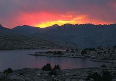 Muriel sunset (Jeff Goddard 32) Tags: highsierra sierranevadamountains california inyocounty muriellake alpine
