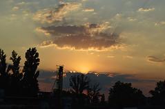 port sunset (sunsetsra) Tags: balaton hungary lake nature water balatonboglar balatonboglr sunset sundown sky twilight waterscape
