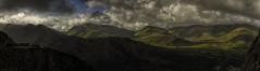 Snowdonia (explored briefly 21/9/16 #11) (MarkWaidson) Tags: llanberis dinorwic dinorwig quarry snowdonia wales clouds sky light mountains panorama derelict buildings waidson
