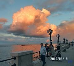 Hobby Fisheries (triziofrancesco) Tags: lungomare bari nubi nuvole clouds triziofrancesco mare sea fishing perca fishermen pescatori hobby
