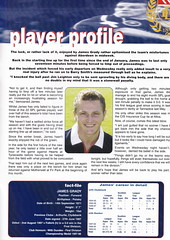 Dundee vs Rangers - 2000 - Page 31 (The Sky Strikers) Tags: dundee rangers scottish premier league spl bank of scotland dens park matchday magazine one pound fifty