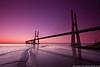 Sunrise @ Lisbon (paulo_1970) Tags: paulo1970 canon canon7d canon1022mmf3545 ponte bridge pontevascodagama rio river tejo riotejo lisbon lisboa
