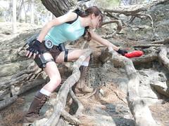 Shooting Lara Croft - Calanque du Mont Salva - Six Fours les Plages - 2016-08-11- P1500397 (styeb) Tags: shoot shooting lara croft 2016 aout 11 calanque mont salva sixfourslesplages t