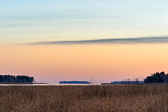 Dividing Lines (Peter Vestin) Tags: nikondf tamronafsp703004056divcusd siruin3204x siruik30x adobecreativecloudphotography herrn skattkrr karlstad vrmland sweden vnern nature landscape seascape sunset