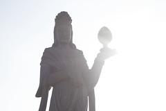 Datong, China (irispuag) Tags: black white estatua escultura sculpture old older vintage chinese china chino xina antiguo viejo vell antic blanco negro luz llum light sky cel cielo landscape datong iluminacin ilumination paisaje paisatge pasado eyes ojos ulls past