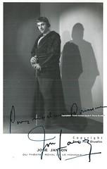 JANSON, Jos, Faust, Opra Comique, Paris (Operabilia) Tags: autograph claudepascalperna opera josjanson tenor faust gounod opracomique paris