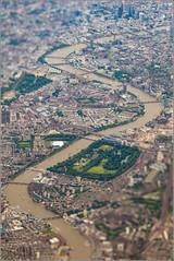 Battersea Park (mikeyp2000) Tags: park photoshop thames battersea london aerial tiltshift