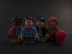 Lego Stranger Things - Eleven, Mike, Dustin, and Lucas (StarSaberSlash) Tags: lego strangerthings netflix series eleven 11 mikewheeler dustin lucas