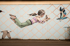 Seth (dprezat) Tags: seth saintmalo street art graf tag pochoir stencil peinture aerosol bombe painting collage urban nikon nikond800 d800