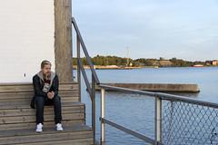 Tuomas (jannaheli) Tags: suomi finland helsinki syksy autumn nikond7200 iltaaurinko sunset auringonlasku kaunistaivas beautifulsky satama harbor meri ocean