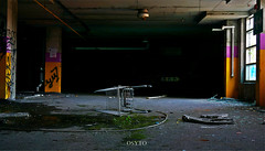 Grass grown (OsytoPhoto Louis Mitch) Tags: urbandecay decay urbex underground basement parking ue osytophoto 1650mm dark natur inside hdr long exposures sonyalpha6k sonygang abandonned