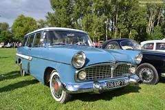 Simca Vedette Marly (Monde-Auto Passion Photos) Tags: auto automobile simca vedette marly break ariane bleu france 48h montargis villemandeur domaine lisledon