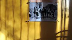 Black Lives Matter (Robert Saucier) Tags: montral mur wall photo jaune yellow ombres shadows img0492 blacklivesmatter