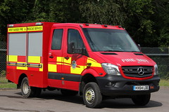 West Sussex Fire And Rescue Mercedes Sprinter 4x4 (Ben Greenwood 999) Tags: west sussex fire and rescue mercedes sprinter 4x4 hx64lde