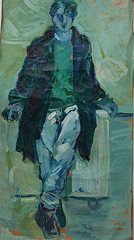 Oilpainting  on  paper # anys (dionyssos1) Tags: boy art oilpainting onpaper wetteren