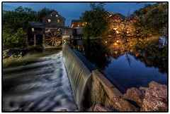 Old Mill (Frank Kehren) Tags: reflection mill canon river unitedstates tennessee 17 pigeonforge f11 hdr gristmill littlepigeonriver nationalregisterofhistoricplaces milldam oldmillrestaurant canoneos5dmarkii southriverroad tse17mmf4l canontse17mmf4l