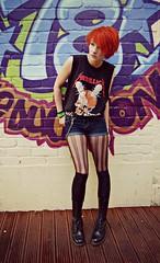 DSC_1169 (DakotaDear) Tags: beautiful female hair graffiti ginger short teenager doc martens