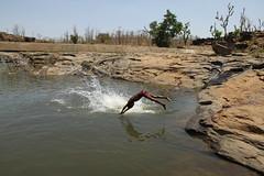 Splash! (Rahul Gaywala) Tags: water kids swim action air dive fast freeze shutter splash mid