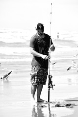 Fishing in Padre Island National Seashore (iamrawat) Tags: fishing texas corpuschristi padreisland southtexas nationalseashore padreislandnationalseashore