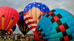 2012-05-13 5DIII Polo America Hot Air Balloon 059 (James Scott S) Tags: usa 3 hot ford glass festival club america sunrise canon scott eos james florida mark air united iii balloon wellington l 5d trucks fl states usm dslr polo ef f4 24105mm