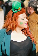 Green & Red. (Anthony Cronin) Tags: ireland dublin sexy green film st analog 35mm patrick ishootfilm celtic stpatrick apug shamrock stpatricksday 2012 nikonf80 saintpatricksday paddysday march17 march17th dubliners dublinstreet patricks dublinstreets allrightsreserved saint ireland dublinlife streetsofdublin irishphotography patricksdayparade lifeindublin irishstreetphotography 50mmf14dnikkor dublinstreetphotography streetphotographydublin anthonycronin livingindublin insidedublin livinginireland streetphotographyireland expiredfujicolor200 fujicolor200superia tpastreet photangoirl