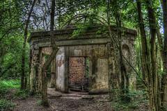 Secret Building (Ellis Pictures) Tags: trees woods ruins hdr oldbuilding laindon
