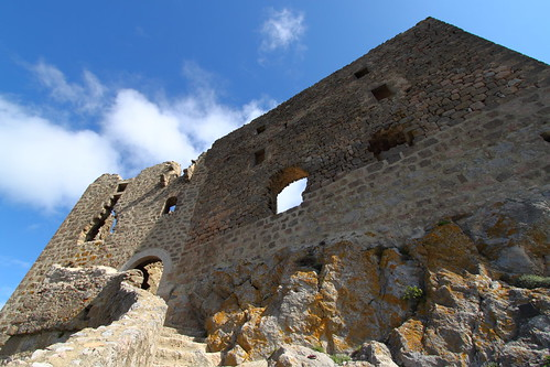 Queribus Castle main entrance