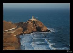 Cabo de Gata Almera (Piman1997) Tags: costa azul mar cabo sanjose playa andalucia gata almeria cabodegata geografia faros acantilados nijar paisajesespaoles accidentesgeograficos geografiadeespaa