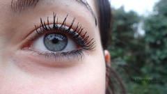 Julia (No Photographies) Tags: yeux bleu cils