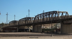 Barstow 1st St bridge  (2752) (DB's travels) Tags: california railroad desert barstow sanbernardinocounty caldesert tempcrr