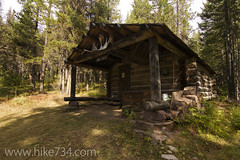 "Upper Nyack Creek Patrol Cabin • <a style=""font-size:0.8em;"" href=""http://www.flickr.com/photos/63501323@N07/7429287080/"" target=""_blank"">View on Flickr</a>"