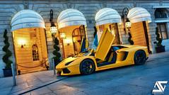 Get a ride ? (A.G. Photographe) Tags: paris france yellow matt french nikon raw ag ritz nikkor fx lamborghini hdr parisian anto d800 parisienne xiii parisien vendôme 2470 aventador antoxiii photoengine hdr5raw oloneo lp7004 agphotographe hdrengine