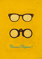 Moonrise kingdom poster (ga3lle) Tags: blue jared film yellow kara jaune movie poster glasses design sam graphic kingdom suzy bleu binoculars anderson fanart moonrise tribute hayward wes lunettes jumelles gaelle 2012 gilman graphisme ga3lle taburiaux
