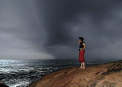 In the Eye of the Storm - Monsoon Arrives in Kerala (Anoop Negi) Tags: portrait india rain weather photography for photo media photographer delhi indian bangalore creative kerala best monsoon indie po mumbai anoop indien climate rains trivandrum inde monsoons negi kovalam インド swapna 印度 índia הודו 인도 ezee123 độ intia الهند ấn هندوستان индия mahawadhi індія بھارت индија อินเดีย jjournalism ינדיאַ ãndia بھارتấnđộינדיאַ indiã