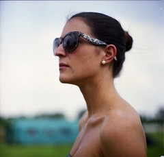 C. (kapa☆) Tags: portrait 120 6x6 film girl analog fuji bokeh 400 vega chiara ritratto russiancamera pro160c salyuts vega90mm28 ritrattodestate