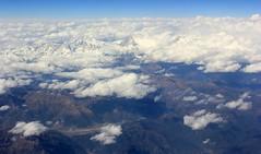Mountains Above The Clouds ( Jamie Mitchell) Tags: sky woman india man mountains clouds delhi muslim islam praying masjid raj ghat jama