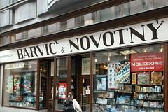 Barvi & Novotn (Florian Hardwig) Tags: brno storefront lettering caron u00dd u010c