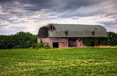 Michigan Countryside (carpetfibers) Tags: landscapes barns farms hdr photomatx blissfieldmichigan decayedbarns