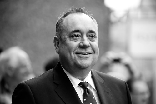 First Minister Alex Salmond on the red carpet for the European premiere of Brave at the Festival Theatre