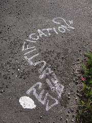 City Beautification (Home Land & Sea) Tags: newzealand art graffiti pavement path sidewalk nz napier pathway sonycybershot hawkesbay ahuriri sooc citybeautification homelandsea dschx100v